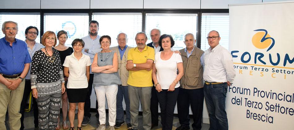 Il Forum Provinciale del Terzo Settore di Brescia ha un nuovo portavoce