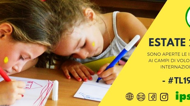Campi di volontariato internazionale Terre e Libertà – aperte le iscrizioni
