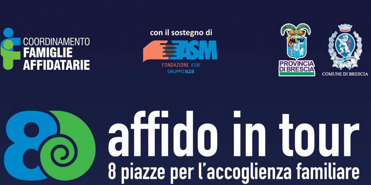 """Brescia 25 e 26 maggio """"Affido in tour""""  – 8 piazze per l'accoglienza familiare"""