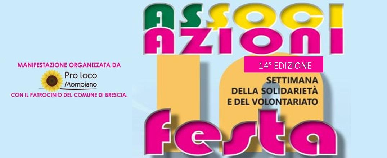 Dal 12 al 21 luglio, al parco Castelli di Brescia, la festa delle associazioni