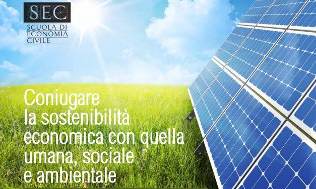 """Sabato 19 Ottobre 2019 """"Per una economia sostenibile"""""""