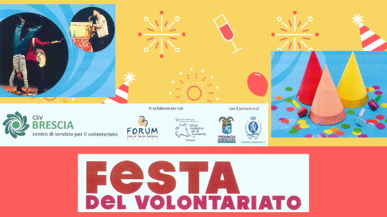 Festa del Volontariato, un grande evento dedicato ai volontari ed alle scuole bresciane
